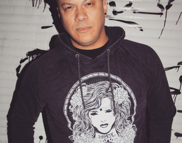 Doc Coyle of Bad Wolves repping Barmetal