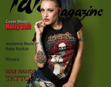 Tat2 Magazine feat. The Holly Doll