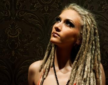 Infected Rain Vocalist Lena Cataraga Talks Embrace Eternity, Fashion, Wine + More