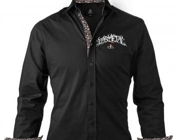 Barmetal Decihell Evil Skull Shirt