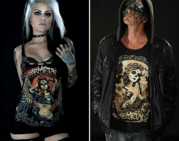 Franccesca De Struct and Nathan Young of Fate Destroyed wear Barmetal